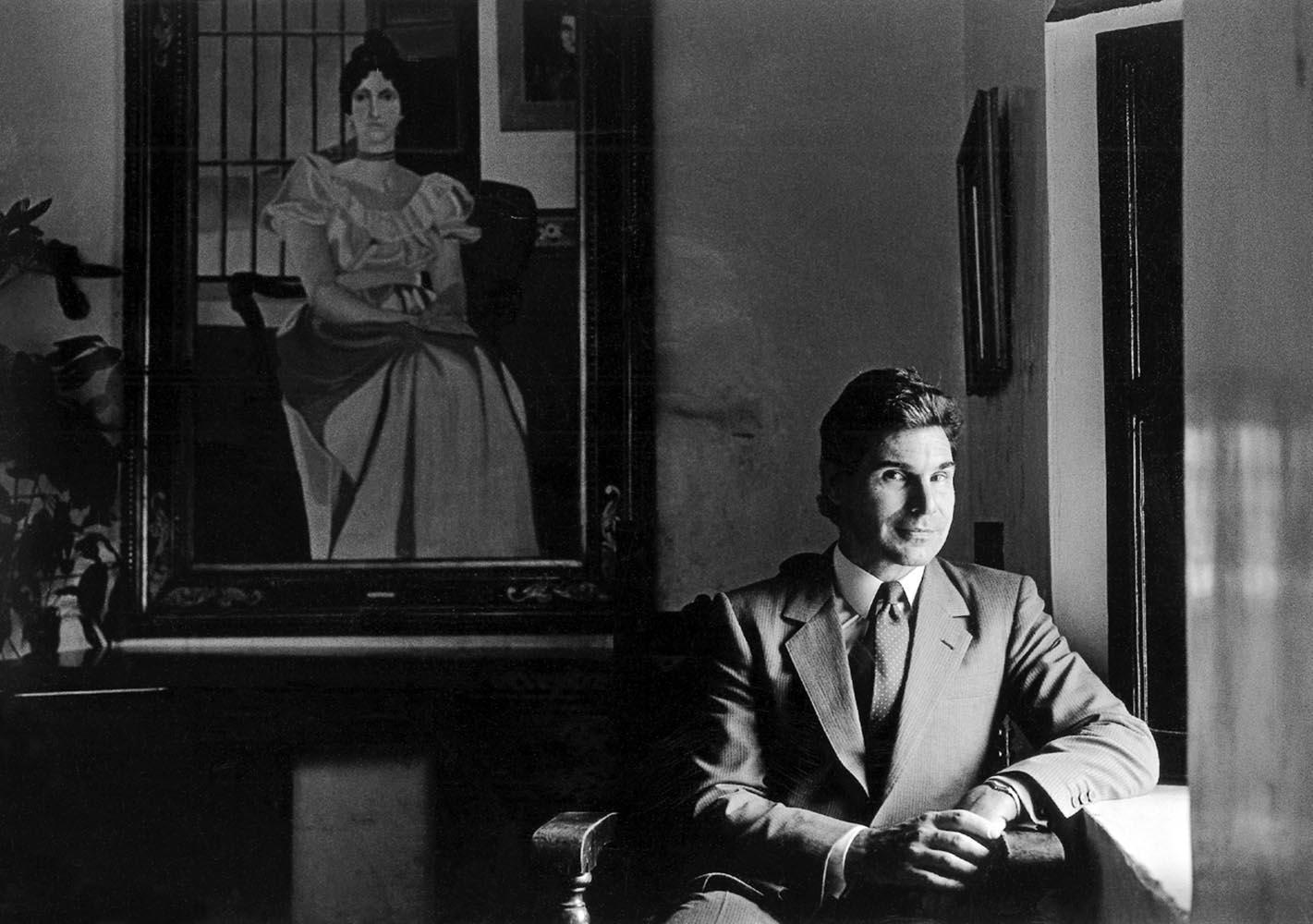 "<span class=""caption-title"">John Werner Caracas</span>, Venezuela, 1987<span class=""caption-copyright"">© Rodney Smith</span>"