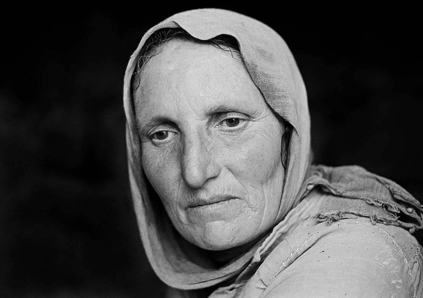 "<span class=""caption-title"">Woman</span>, Jish, Israel, 1976<span class=""caption-copyright"">© Rodney Smith</span>"