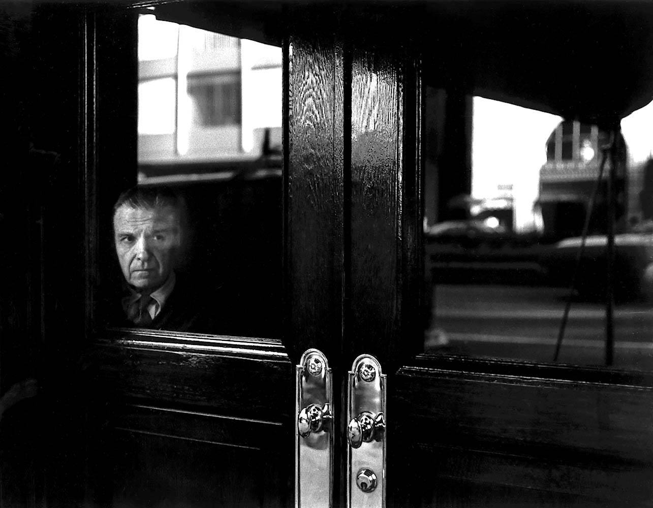 "<span class=""caption-title"">Doorman</span>, Park Avenue, New York City, New York, 1971<span class=""caption-copyright"">© Rodney Smith</span>"