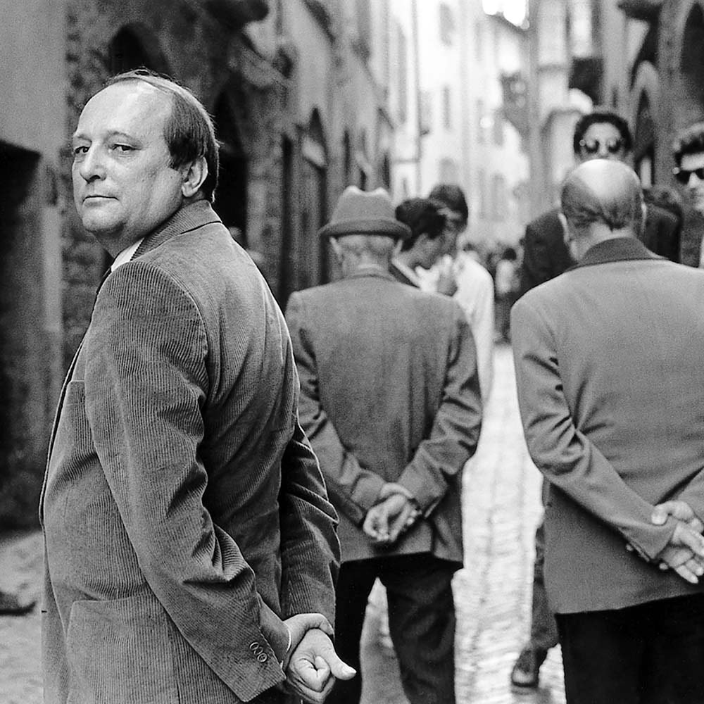 "<span class=""caption-title"">Luigi</span>, Ribolla, Italy, 1987<span class=""caption-copyright"">© Rodney Smith</span>"