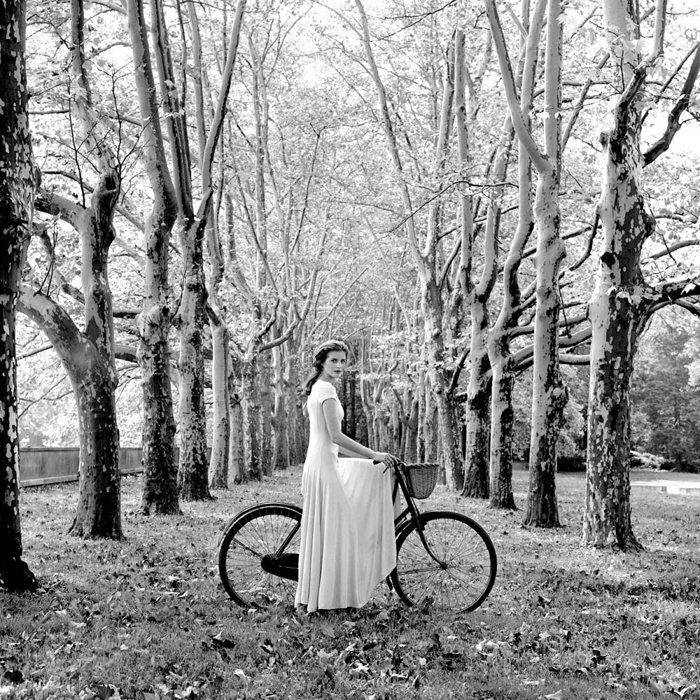 "<span class=""caption-title"">Anika on Bicycle</span>, Long Island, New York, 1993<span class=""caption-copyright"">© Rodney Smith</span>"