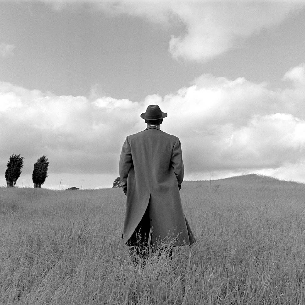 "<span class=""caption-title"">A.J. From Behind in Field</span>, Harriman, New York, 1994<span class=""caption-copyright"">© Rodney Smith</span>"