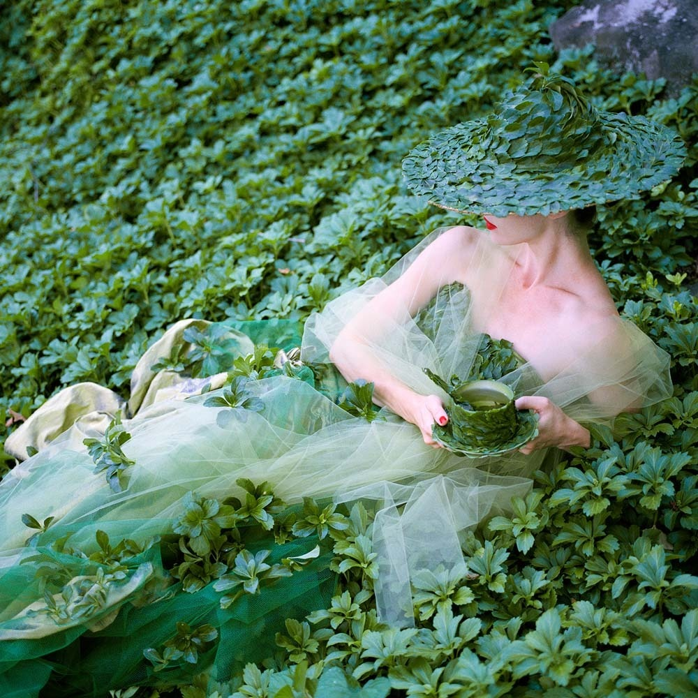 "<span class=""caption-title"">Erin in Green</span>, Snedens Landing, New York, 2014<span class=""caption-copyright"">© Rodney Smith</span>"