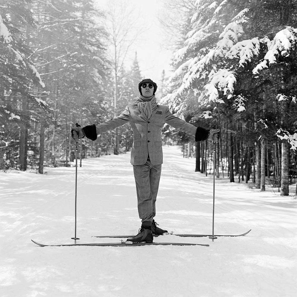 "<span class=""caption-title"">Reed on Skis</span>, Lake Placid, New York, 2008<span class=""caption-copyright"">© Rodney Smith</span>"