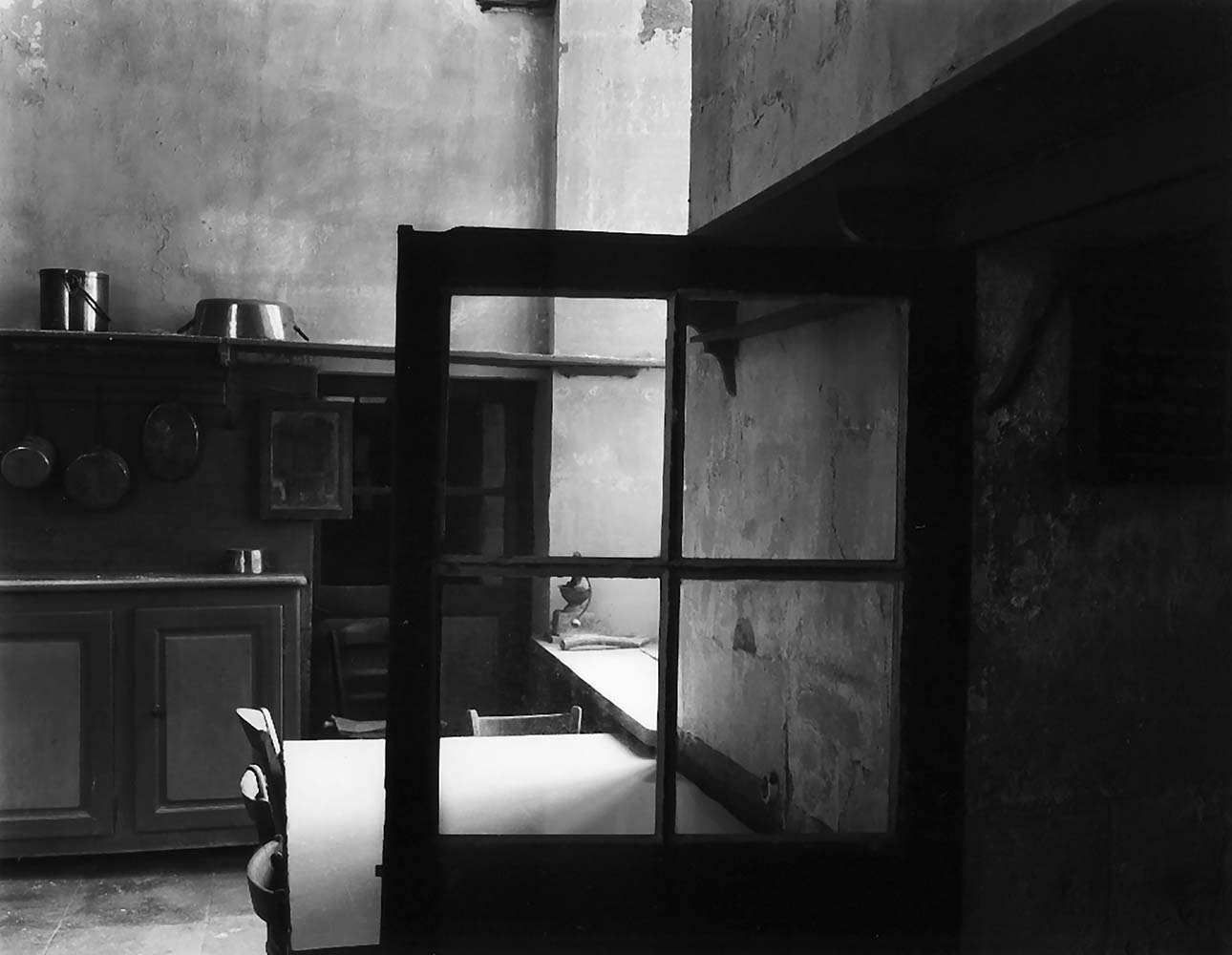"<span class=""caption-title"">Kitchen Interior</span>, Chastelux, France, 1985<span class=""caption-copyright"">© Rodney Smith</span>"