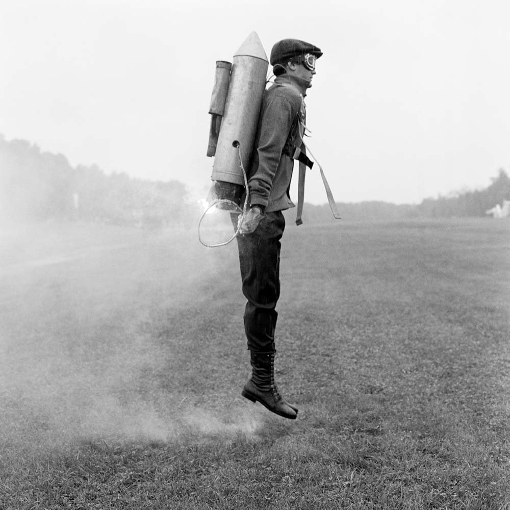 "<span class=""caption-title"">Rocketman</span>, Rhinebeck, New York, 2009<span class=""caption-copyright"">© Rodney Smith</span>"