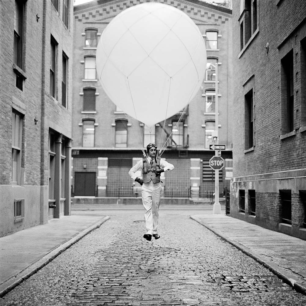"<span class=""caption-title"">Reed Floating with Balloon</span>,  New York City, New York, 2011<span class=""caption-copyright"">© Rodney Smith</span>"