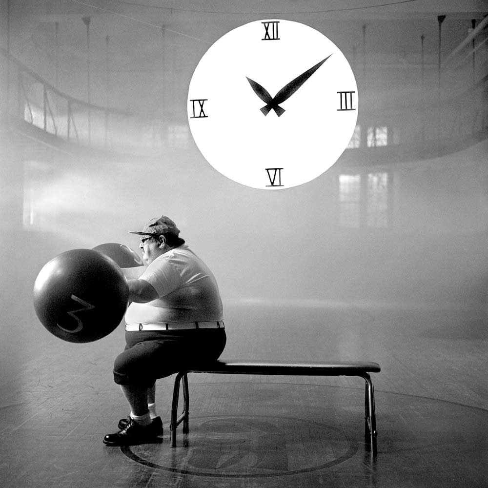 "<span class=""caption-title"">Super Slow Exercise</span>,  New York City, New York, 2001<span class=""caption-copyright"">© Rodney Smith</span>"