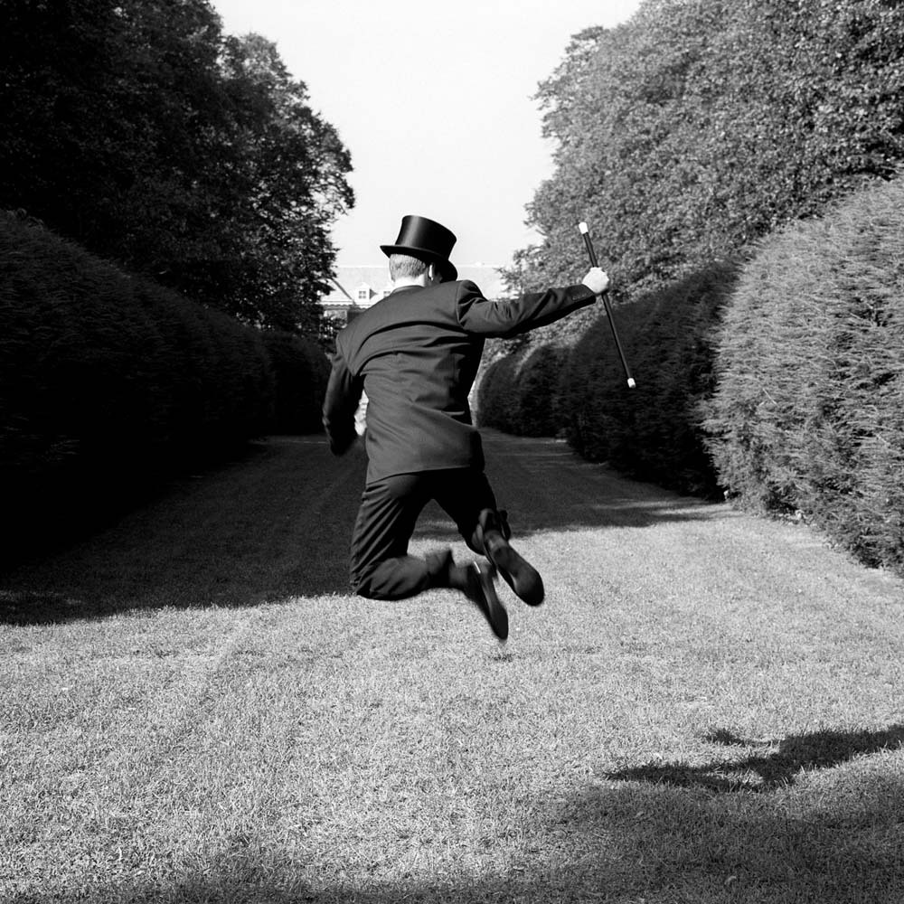 "<span class=""caption-title"">Gary Jumping</span>, Long Island, New York, 1994<span class=""caption-copyright"">© Rodney Smith</span>"