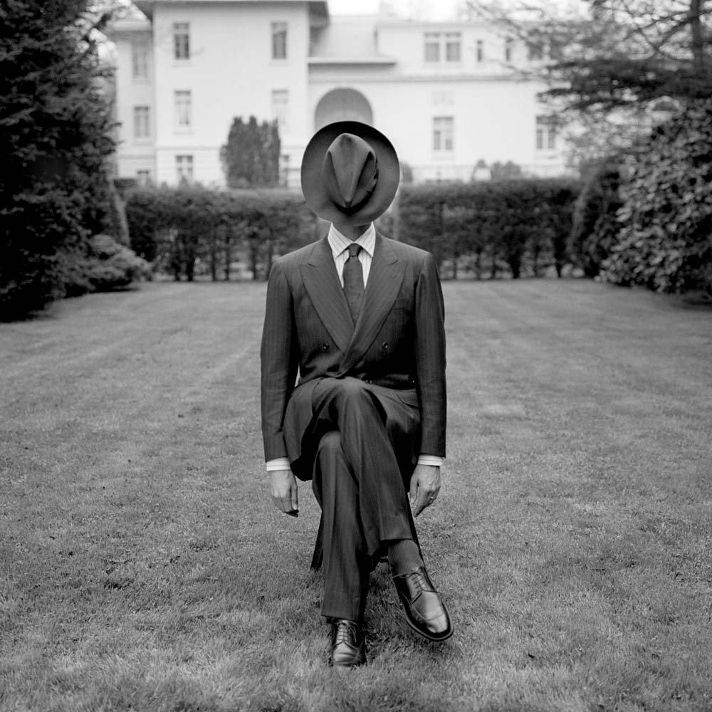 "<span class=""caption-title"">Kiton Man the Knole Estate</span>, Long Island, New York, 1995<span class=""caption-copyright"">© Rodney Smith</span>"